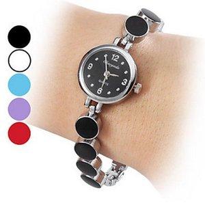 requintado cinta de aço de moda Chaoyada menina elegante Mulheres de metal de quartzo pulseira relógio de pulso 933