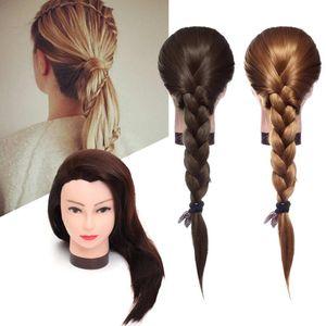 70 cm largo pelo recto peluquería práctica práctica maniquí práctica maniquí salón mujeres peluquería styling head