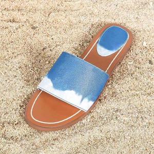 New Luxury Designer Slipper Women Sandals Lady Fashion Classic Alphabetic pattern Casual Sandy Flip Flops Flat Size 34-42 With box