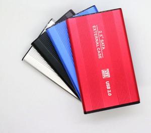 "2,5"" 2,5-дюймовый USB 2.0 HDD Case жесткий диск SATA External Storage Enclosure Box с Retail Box"