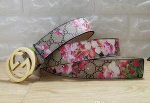 Продажа зеленого цвета Роскошные Высокого Качества Дизайнерские Ремни Мода змея животных рисунок пряжки ремня мужской женский ремень ceinture не