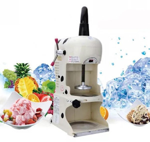 110 V 220 V Taiwanese Maker Shaved Ice Maker Commercial Black Cream Machine Elettrico Popolare Gelato Snow Ice Cream Machine