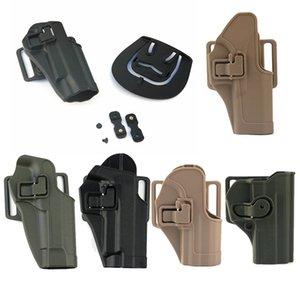 Tactical Airsoft Fast Holster Accessory Busta Associazione Fast Gun Airgun 1911 G17 M9 P266 USP SIG Nylon Tactical Holster no06-127