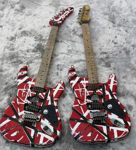Высокое качество электрической гитары, Eddie Van Halen Лучшие гитары качества, в возрасте реликвия го, модернизированы качества металлоконструкции, поставляется быстро