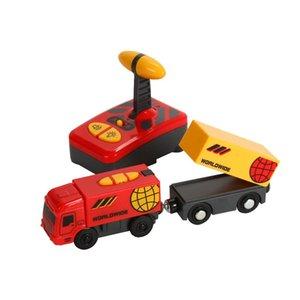 Elétrica Toy Train Kid elétrica Magnetic Toy Train Locomotive brinquedo para Thomas madeira trilha brinquedos para as crianças presente