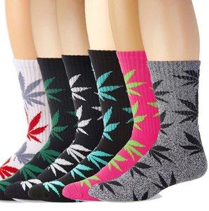 Plantlife Socken Hohe Besatzung Frau Männer Socken Skateboard hiphop Socken Blatt Ahornblätter Strümpfe Baumwolle Unisex