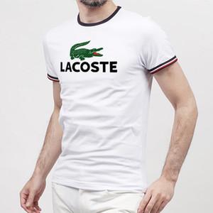2019-New Moncl Tasarımcıları Erkekler ve Kadın Için T Shirt Tops T-Shirt Erkek Giyim Marka Kısa Kollu gömlek Bayan Giyim Boyutu S-3XL Streetwear