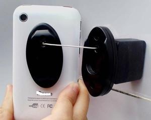 (50 Sätze / Los) Magnet Sicherheit mobiler Wandmontage Display Zugkasten Halter Handy Anti-Diebstahl-recoiler Stand