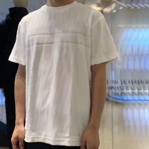 20SS Jacquard-Monogramm Fleece T Fashion High Street kurze Hülsen-Sommer-beiläufige T-Shirt Solid Color atmungsaktive Soft Neue Styles HFYMTX632