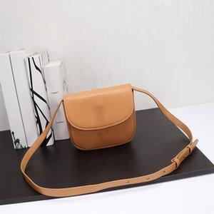 chaud vente de sacs de ceinture selle en cuir véritable véritable mode de dame marque un sac shouler crossbody de haute qualité