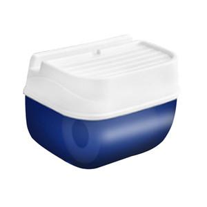 An der Wand montiert Kein Bohren Kosmetiktuchspender Box Cover Holder Kunststoff Wasserdichte Serviette Organizer Modische feuchtigkeitsfestes Toilettenpapier