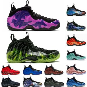 2019 USA Foam One Penny Hardaway Herren Basketball Schuhe Vandalized Paranorman Hyper Crimson Doernbecher Lila Camo Alternate Galaxy Sneakers