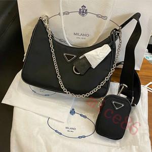 top qualité designers femmes de luxe sacs à main Sacs À Main lady Sac À Main re-édition 2005 nylon Épaule Sac canal totes mode de luxe sac