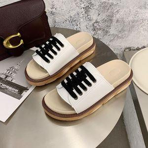 BJYL Женская мода Тапочки Слайды обувь на открытом воздухе Женщина Лето пляжная обувь 2020 Обувь женская M1363