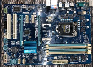 original desktop motherboard GA-Z77P-D3 LGA1155 DDR3 USB3.0 support 3770K 2550K 3470 E3