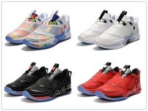 Adaptar Shoes BB 2.0 Tie-Dye Homens Basketball Sports 2,0 Chicago Red Oreo Mens Moda Confortável Designer Sneakers No-lacing auto Tamanho 7-12