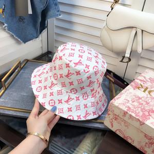 Designer Cotone Lettera secchio cappelli per gli uomini pieghevole Cap Donne Pesca Caccia Pescatore Beach Sun Visor vendita pieghevole uomo Bombetta BB201