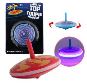 Los niños se iluminan arriba toupie gyro Para los niños Antiestrés Juguetes de peonza de escritorio