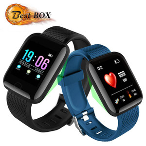 116 Plus Smart Watch Bracelets 1.3 inch Fitness Tracker Heart Rate Step Counter Activity Monitor Band Wristband PK 115 M3 for iphone Android