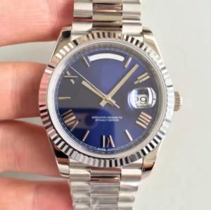بائع المصنع 6 Color Best Quality Men Watches 41mm Day-Date II 228235 President Platinum Swiss CAL.3255 Movement Automatic Mens Wristwatch