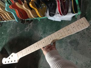 Real Pictures from Factory 6 Strings Maple Fingerboard Bass guitar Neck,can offer many kinds of necks