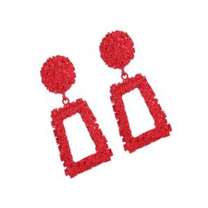 Fashion Punk Bohemian Geometric Statement Earrings for Women