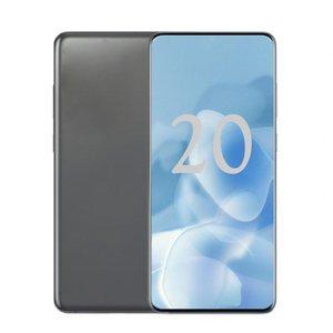 Shows 5G Goophone 6.7inch 20U Full Screen MTK6580 Quad Core Smartphone 1GB RAM 8GB ROM Show Fake 5G WIFI Bluetooth Cellphone