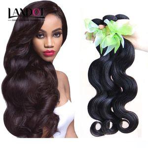 A Brazilian Virgin Hair Weaves Body Wave Unprocessed Peruvian Malaysian Indian Cambodian Remy Human Hair Extensions Bundles Soft Full D