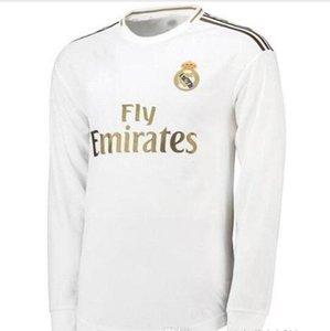 19 20 longsleeve 레알 마드리드 유니폼 2019 2020 위험 축구 유니폼의 세르지오 축구 셔츠 유니폼 19 20 camisetas 스포츠