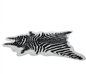 Creativo tappeto moda morbida classica Hotel bagno soggiorno Zebra materassini cuscini mucca Tappeto da viaggio tappetino tappeto sedia