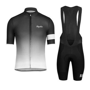 Rapha yaz kısa kollu bisiklet forması bisiklet önlük SET MTB üniforma PRO bisiklet giyim bisiklet Maillot XS-4XL dtmall giyim Giyim mens