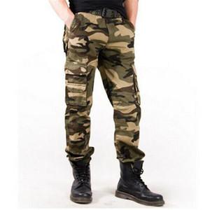 Yeni 2019 moda streetwear kamuflaj kargo harem pantolon erkekler tatical ordu pantolon açık sweatpants pantolon erkekler Joggers moletom masculino