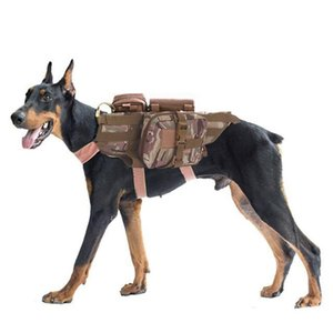 Armee Tactical Dog Westen Military Hunde-Bekleidung Trainings Load Bearing Harness SWAT Hundetraining Rettungs Molle Weste Harness für Haustier