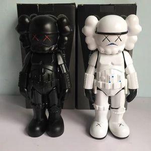 Mand KAWS aksiyon figürleri sınırlı sayıda el yapımı modeli bebek oyuncakları trendi etrafına yerleştirilen