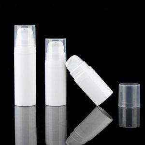 5ml를 10ml의 화이트 에어리스 로션 펌프 병 미니 샘플 및 테스트 병 에어리스 용기 화장품 포장