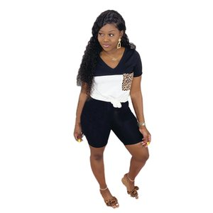 Womens Sexy 2 Piece Outfits Sports Activewear Jumpsuits T Shirt Top Bodycon Shorts Set Tracksuits Joggers
