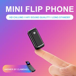 새로운 Celulares 미니 전화 F1 포켓 자동차 키 플립 전화 안티 - 분실 FM GSM 음악 플레이어 작은 싼 전화 블루투스 Dailer 휴대 전화 4 밴드