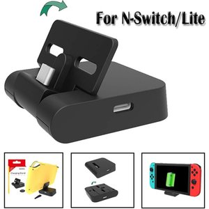 Switch Charging Dock, Universal Portable Adjustable Charger Stand for Nintendo Switch Switch Lite, Mini Foldable Type-C Switch dock Station