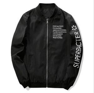 2020 New Spring Autumn Casual Solid Fashion Slim Men Bomber Jacket Male Baseball Men's windbreaker Jackets Coat Men's