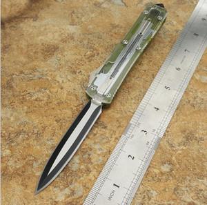 Горячий микрофон ultech 121 нож красный обоюдоострым подарок Охотничий складной карманный нож выживания нож Xmas для мужчин Bench D2 ZT 1шт Freeshipping