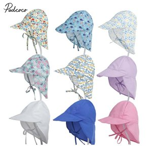 2019 Brand UPF50 + Uv Toddler Infant Kid Sun Cap Summer Outdoor Baby Girls Boys Holiday Beach Quick-Dry Hat