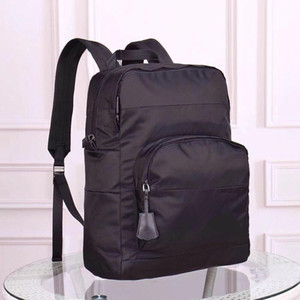 Designer- large capacity notebook backpack nylon shoulder waterproof bag designer shoulder handbag old flower Messenger bag parachute su