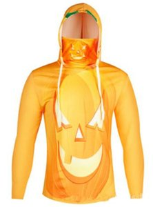 Mens Halloween New Designer Hoodies Halloween Pumpkin Imprimir Mens Solid Color Hoodies encapuçados machos Sueter