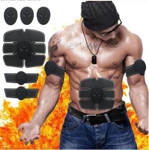 Muscle Stimulator EMS Intelligent Massage Instrument Fesse beauté Pâte abdominale Fitness Instrument Lazy Muscle abdominal Pâte