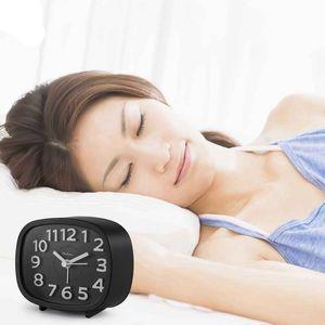 Номера Ticking Будильник, питание от батареи Тумбочка часы Бесшумный Простота настройки Путешествия Clocks Другие часы Аксессуары