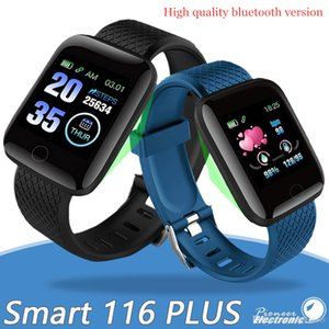 Better version 116 Plus Smart watch D13 Smartwatch Fitness Tracker Heart Rate S Activity Monitor Band Wristband PK 115 PLUS M3 for Android