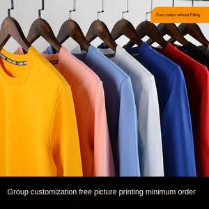 2020 sweater class printing Diy sweater clothing sports meeting printing advertising clothing DIY