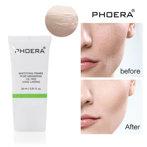 Hot PHOERA 24ml Transparent Makeup Base Primer Liquid Matte Primer Makeup Quick Minimize Pores Moisturizing Facial Cosmetics TSLM1