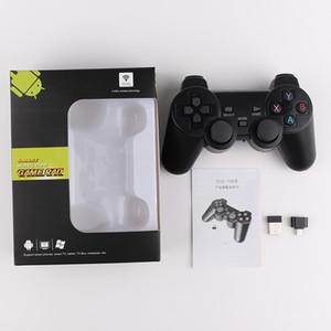 TGZ-706W 2.4 GHz Controlador Sem Fio para Joystick Inteligente Gamepad Controlador de Jogo inteligente para Sony Play Station Com caixa de Embalagem