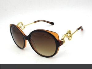 Roberto'S Bayanlar Güneş 1035 Altın Yılan Tasarım Shield Güneş orijinal kutusu ile gafas de sol oculos